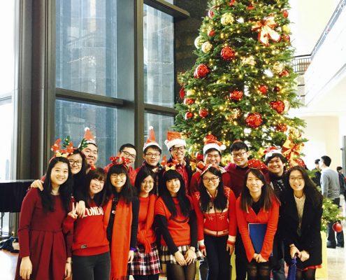 Christmas Caroling at Central Plaza (17 Dec 2015)