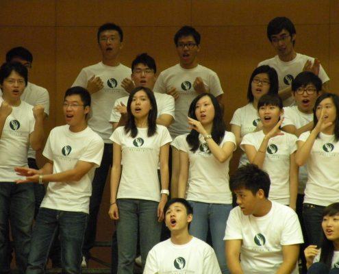HKVC singing a fun arrangement of Old MacDonald had a farm