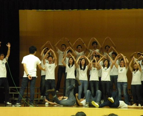 HKVC singing with movement